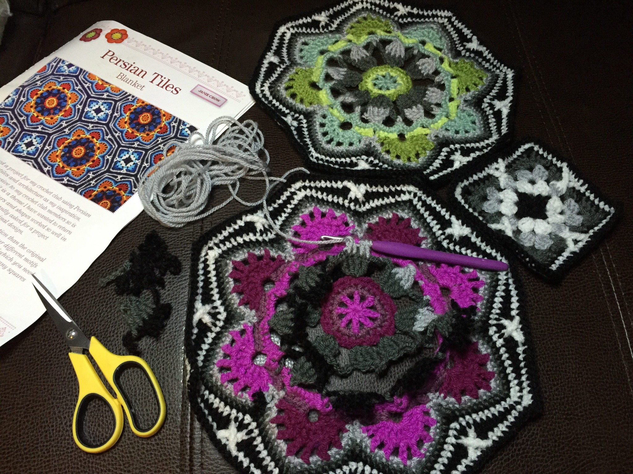 Over The Rainbow Crochet Blanket